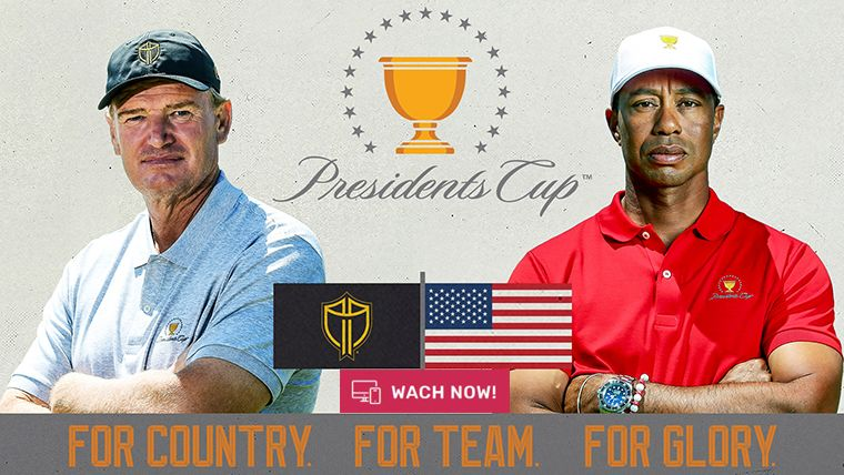 watch presidents cup golf 2019 live