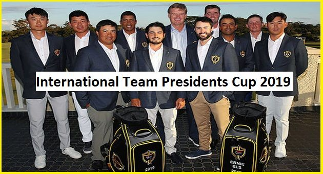 international team presidents cup 2019