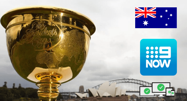 Presidents Cup 2019 live in Australia